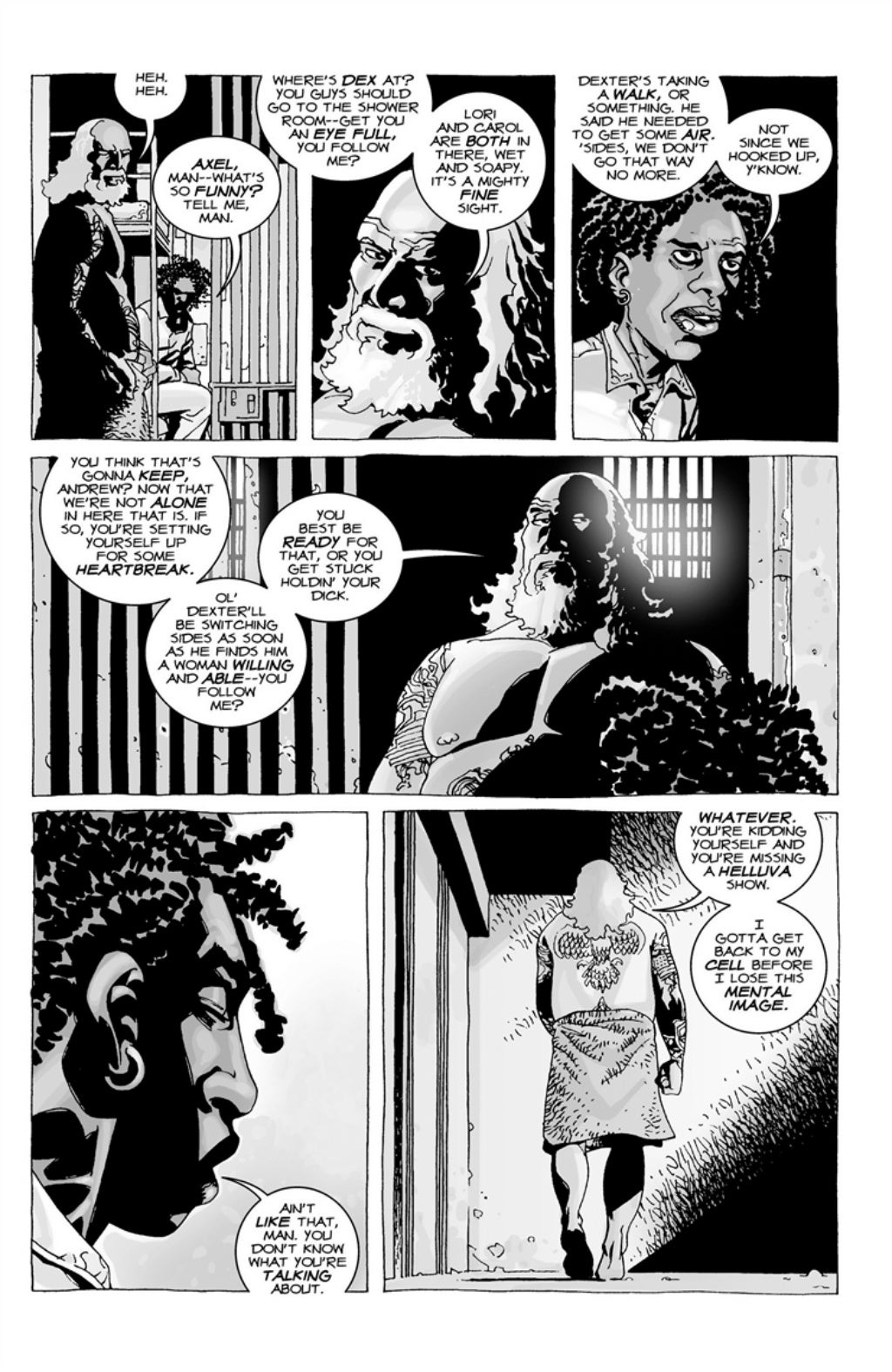 The Walking Dead volume 3 page 76