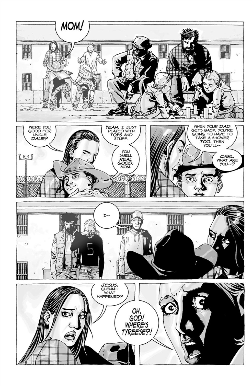 The Walking Dead volume 3 page 77