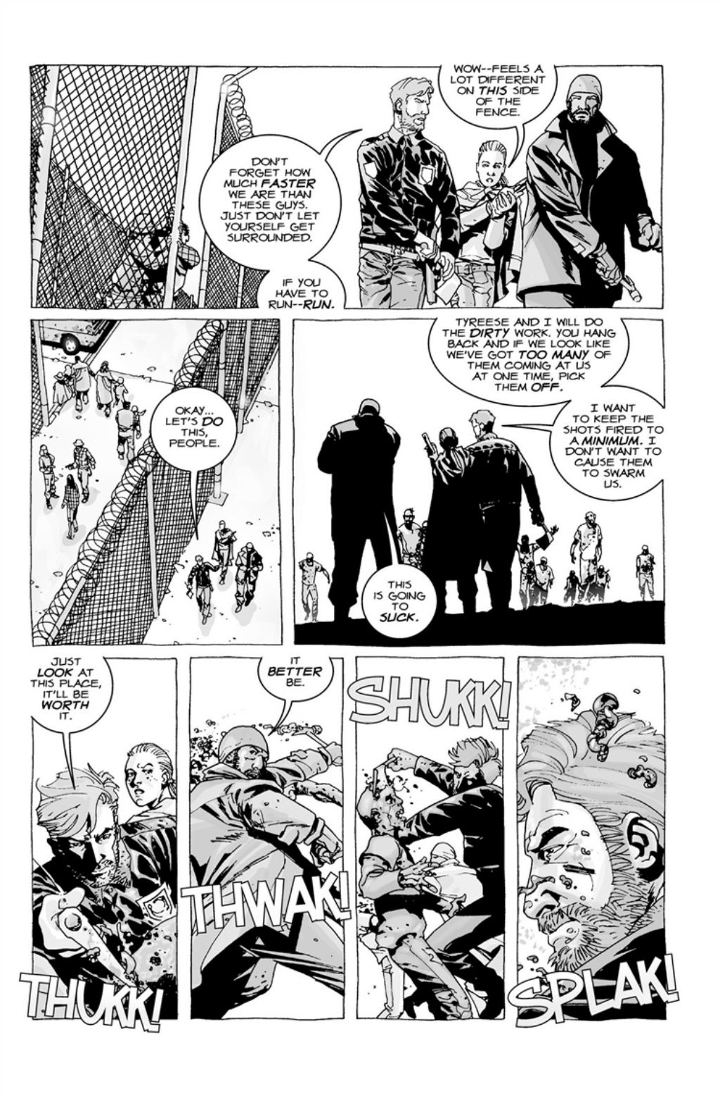 The Walking Dead volume 3 page 8