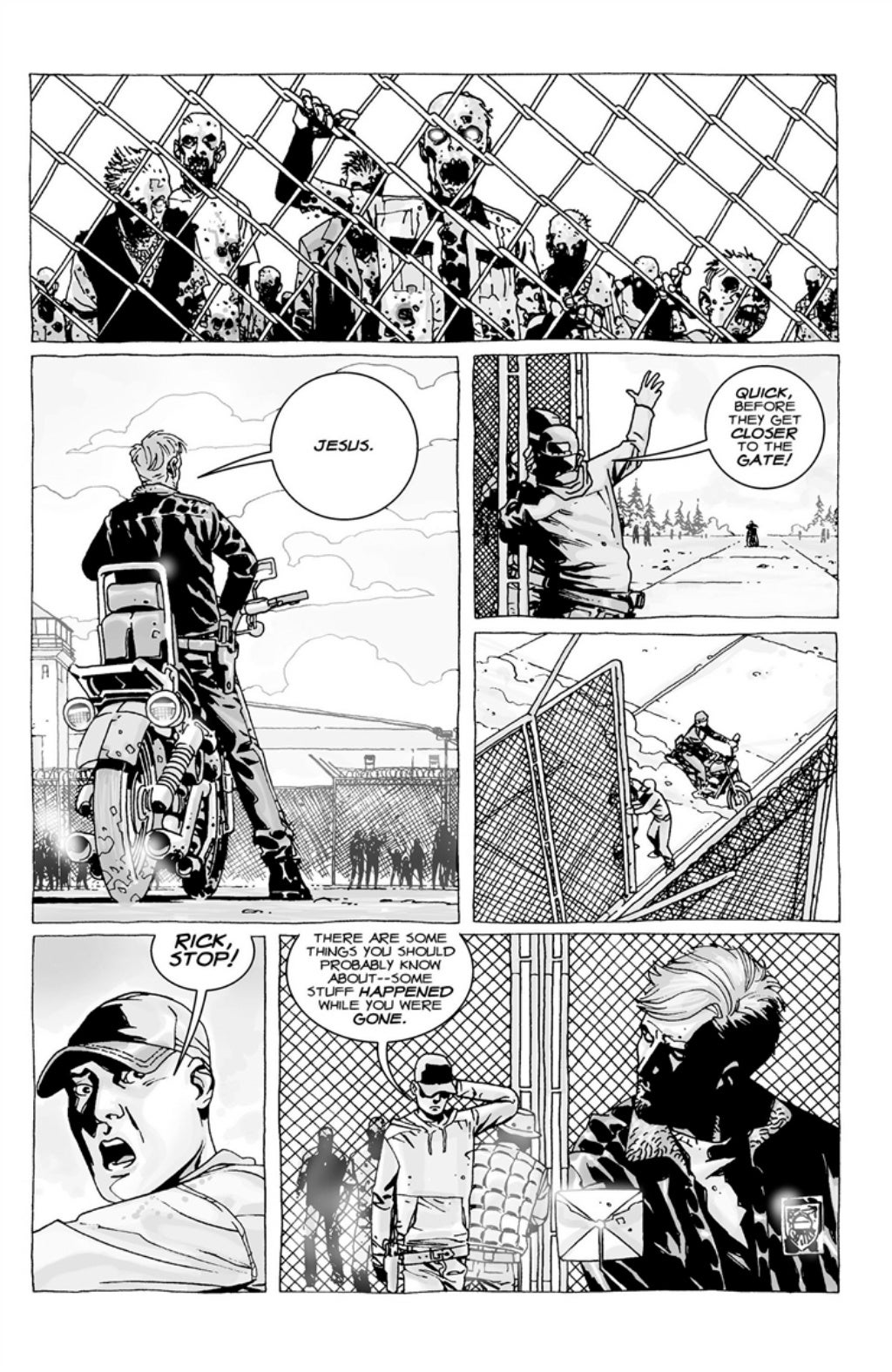 The Walking Dead volume 3 page 84