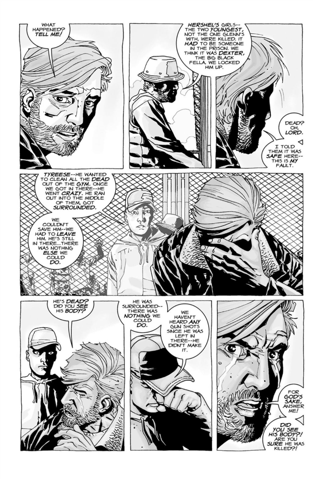 The Walking Dead volume 3 page 85