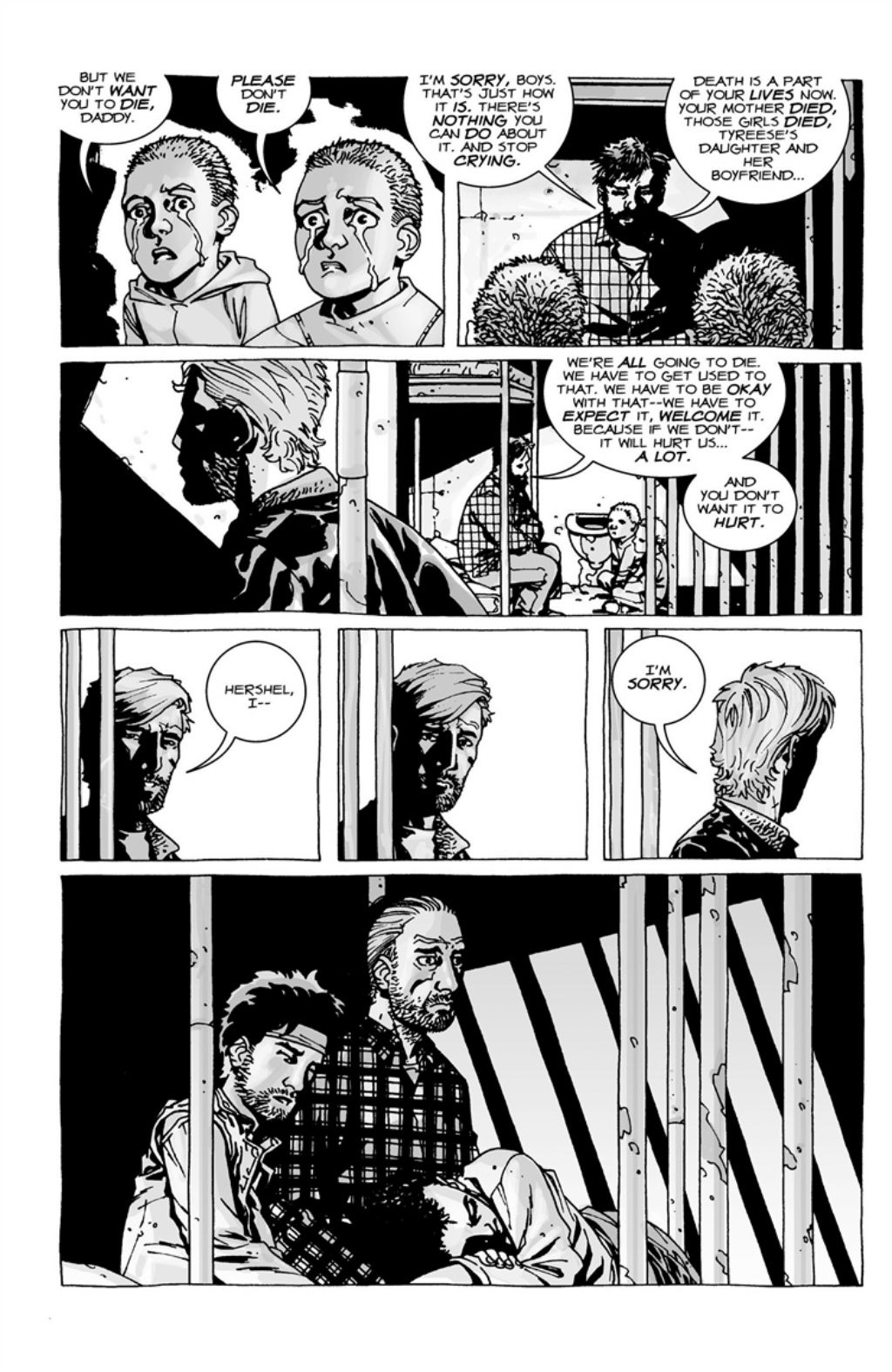 The Walking Dead volume 3 page 89