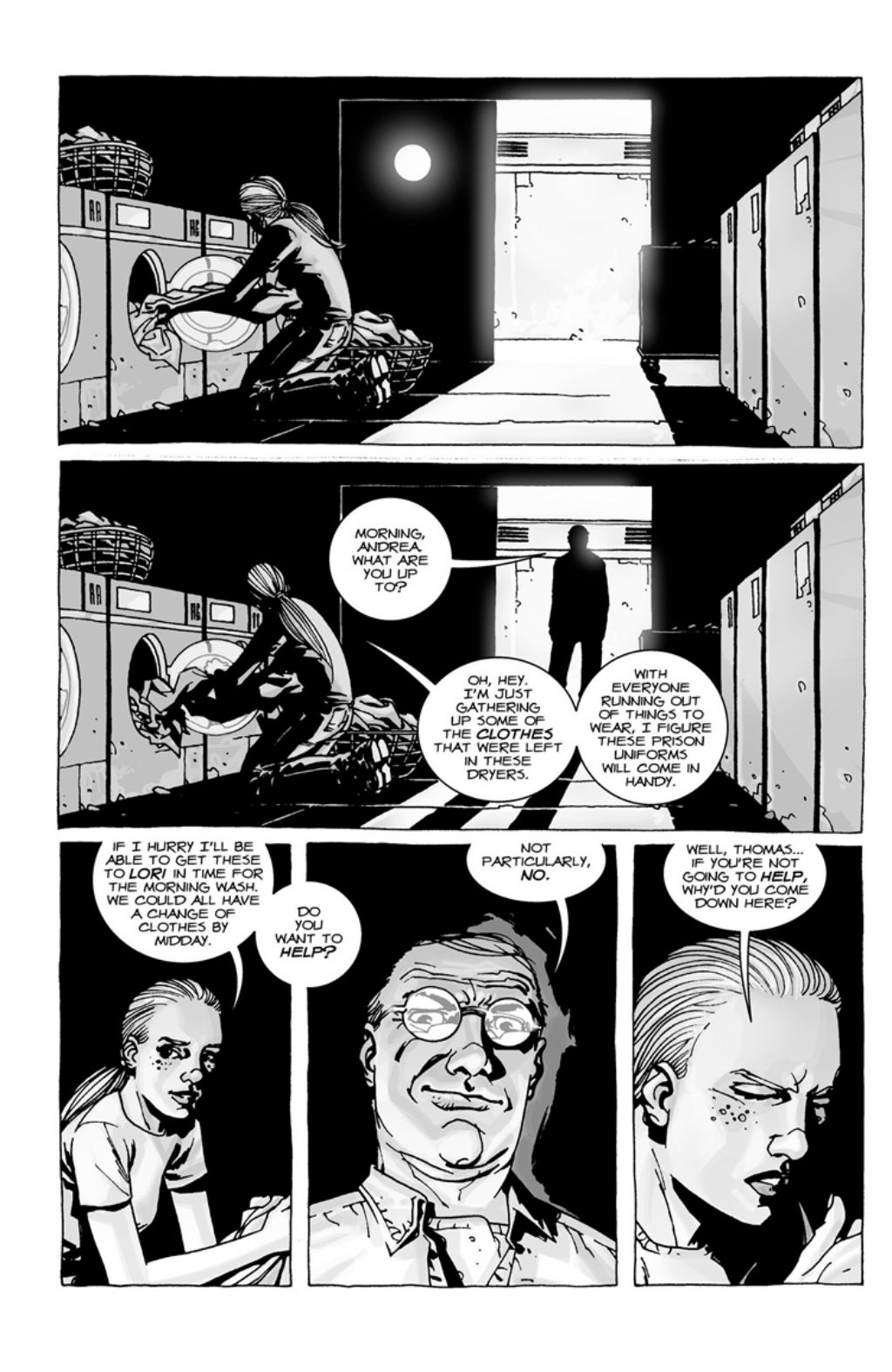 The Walking Dead volume 3 page 91