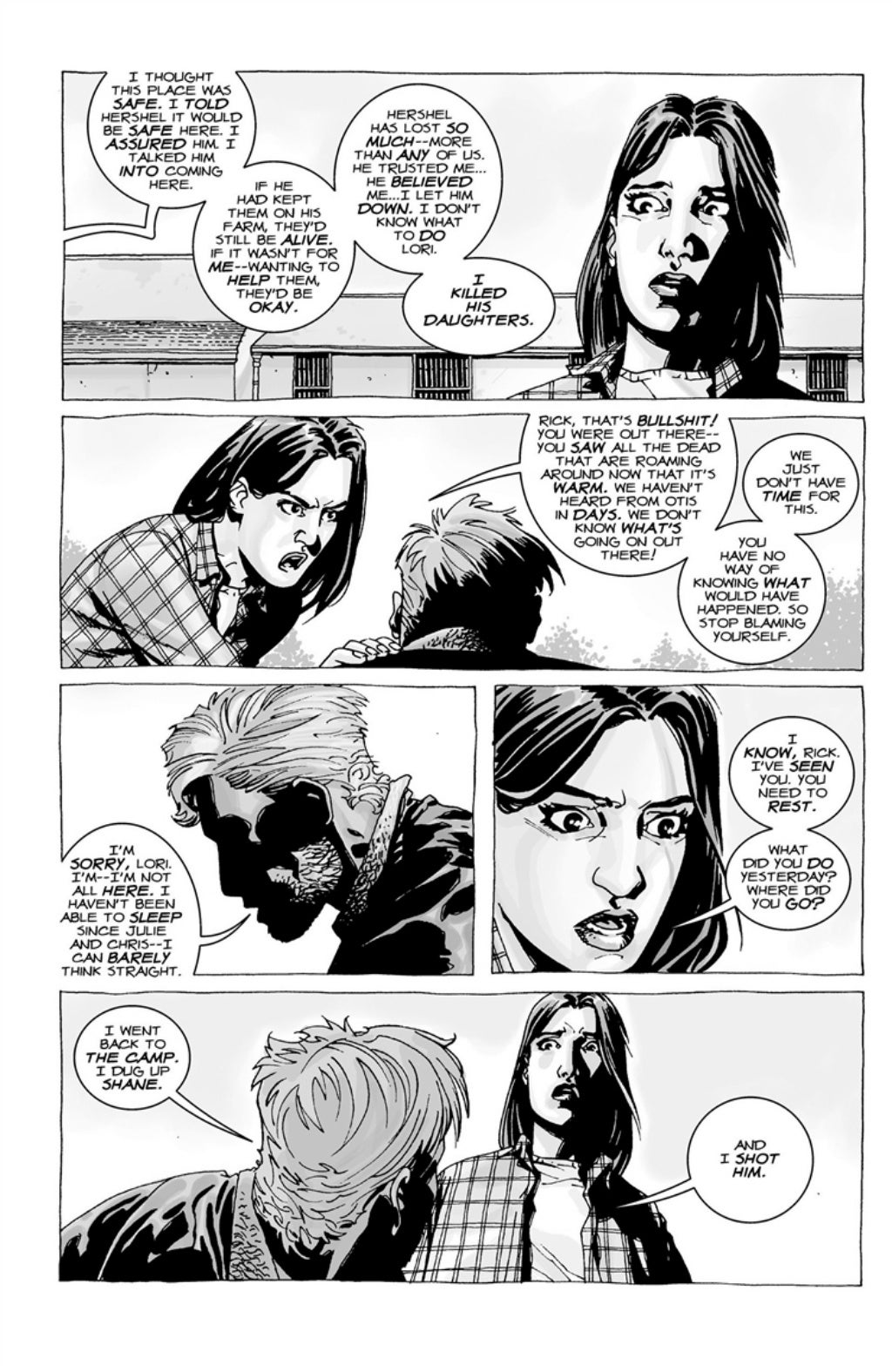 The Walking Dead volume 3 page 95