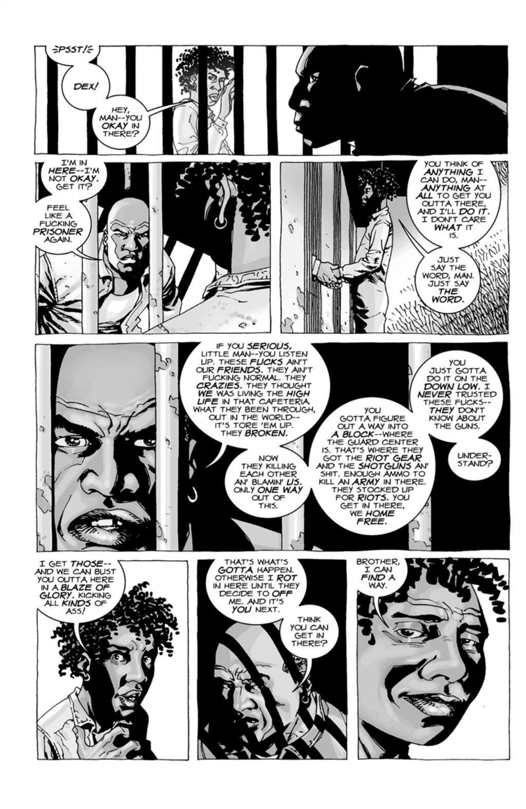 The Walking Dead volume 3 page 97