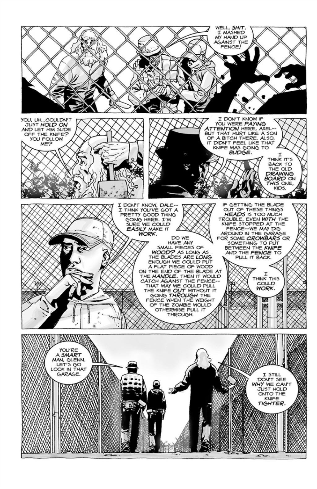 The Walking Dead volume 3 page 99