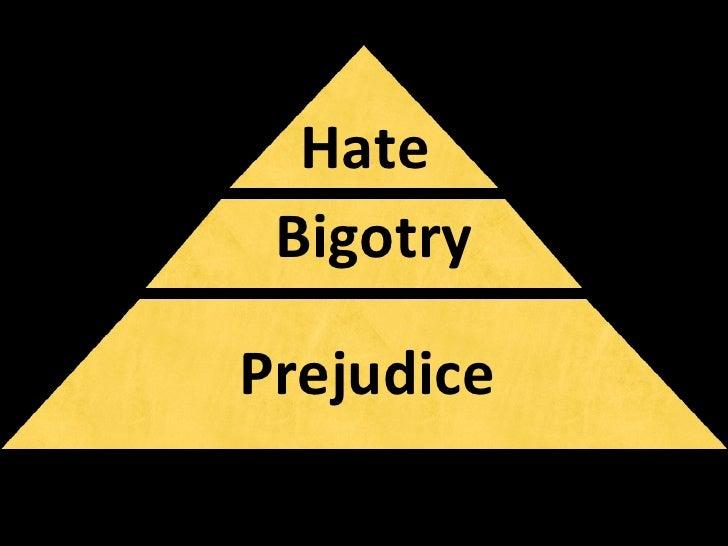Hate Bigotry Prejudice