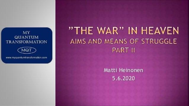 Matti Heinonen 5.6.2020