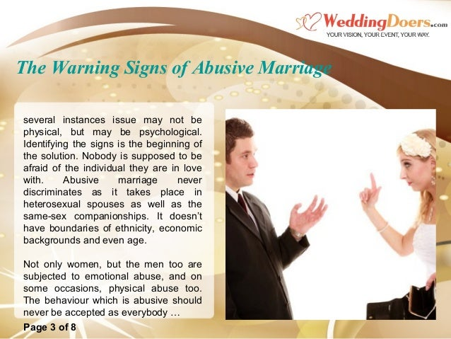 Of abusive men signs 20 Signs