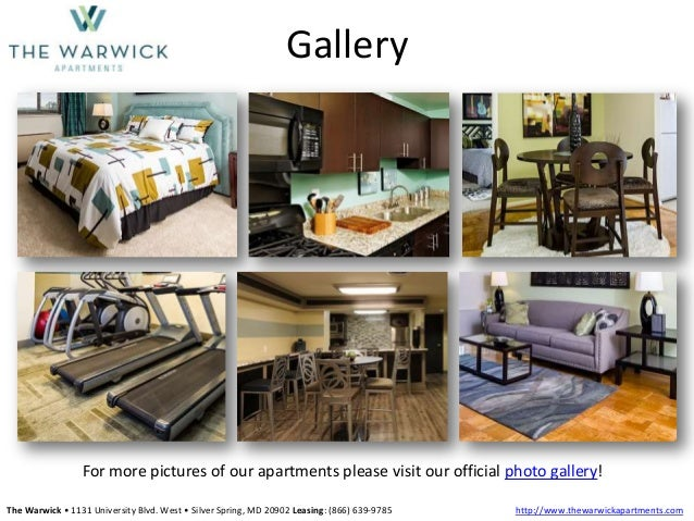 The Warwick Apartments Silver Spring Md