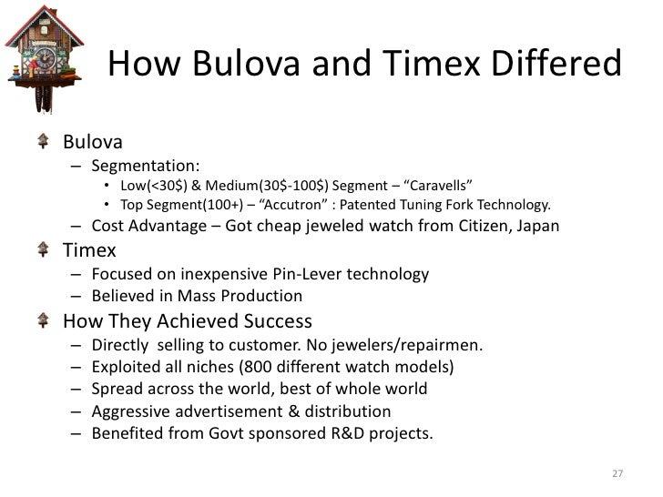 market segmentation timex An introduction to market segmentation in consumer and industrial markets.