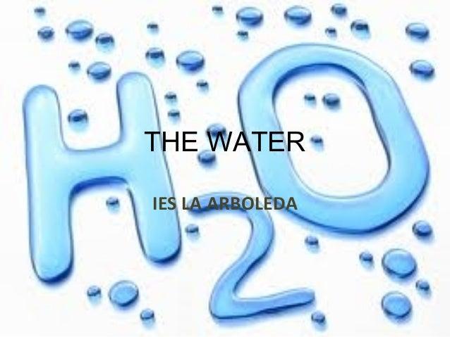 THE WATER IESLAARBOLEDA