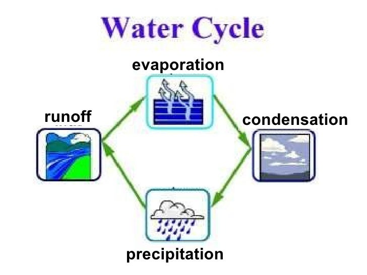 Evaporation Condensation Precipitation Runoff