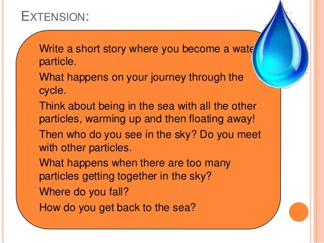 Short summary of the water cycle?