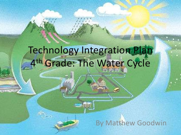 Technology Integration Plan 4th Grade: The Water Cycle<br />By Matthew Goodwin<br />