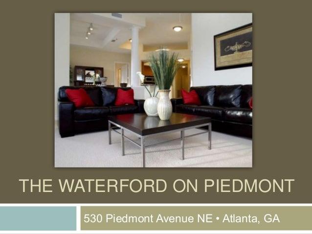 The Waterford on Piedmont Apartments, Atlanta, GA