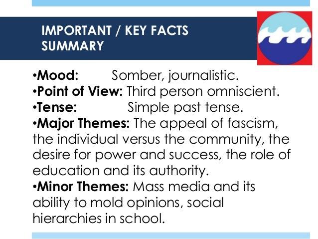 The Wave & Ben Ross: Nazism & Analysis