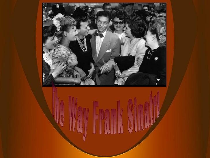 The Way Frank Sinatra