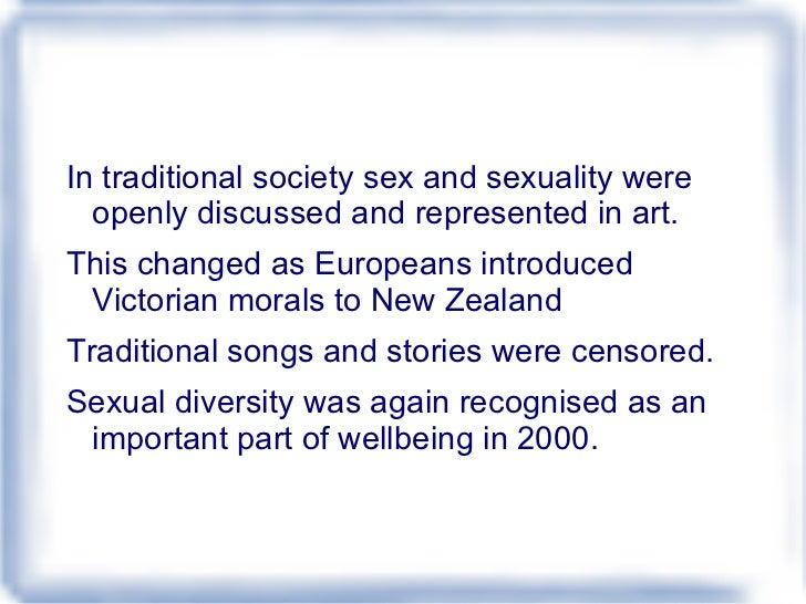 The way maori express their sexuality