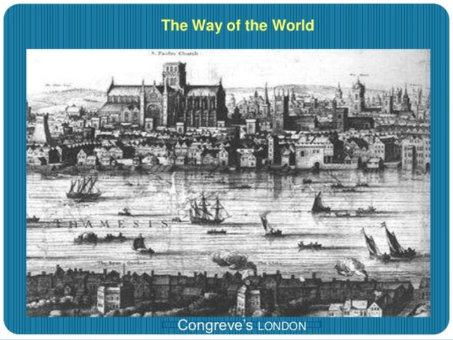 the actions of mrs marwood in the play the way of the world by william congreve The way of the world by william congreve  mrs marwood, and mrs fainall  ''games people play in congreve's the way of the world, in a provision of.