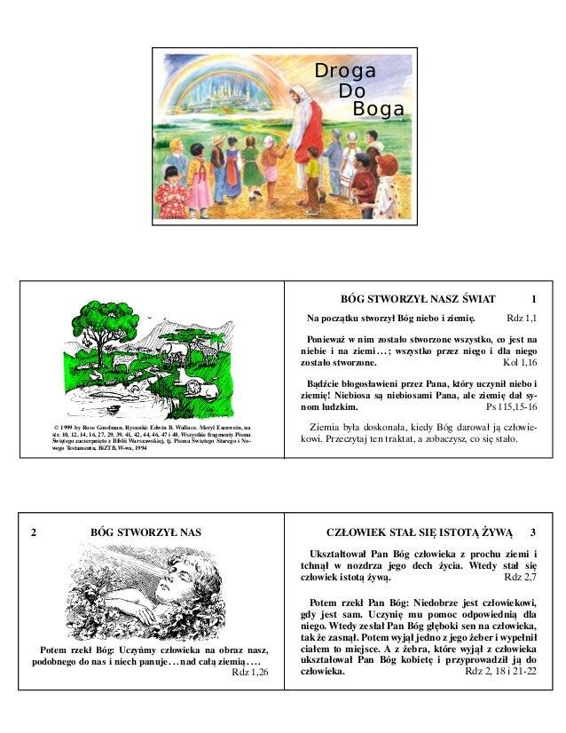 DrogaDoBoga© 1999 by Rose Goodman. Rysunki: Edwin B. Wallace. Meryl Esenwein, nastr. 10, 12, 14, 16, 27, 29, 39, 41, 42, 4...