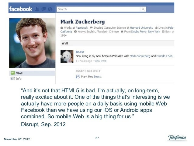 """""""And its not that HTML5 is bad. Im actually, on long-term,           really excited about it. One of the things thats inte..."""