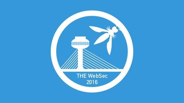 THE WebSec 2016
