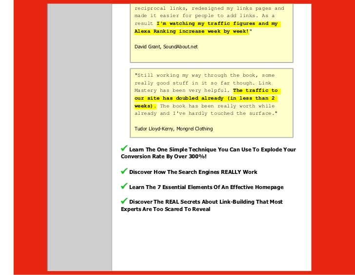 The website marketing bible one of the best internet marketing stra 14 reciprocal fandeluxe Gallery