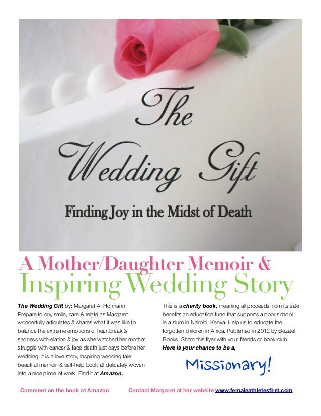 The Wedding Gift Book Flyer