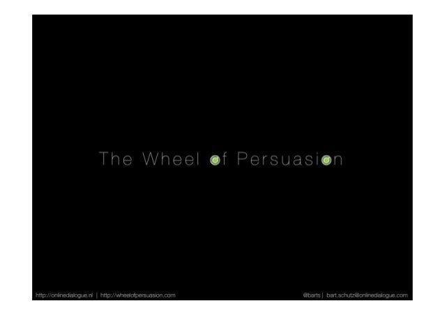 The wheel of persuasion (product AMS)