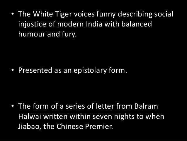 Book: The White Tiger