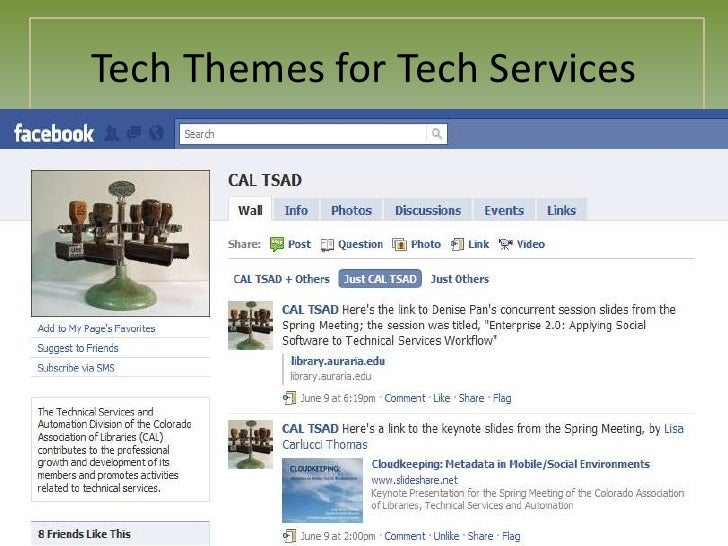Tech Themes for Tech Services<br />