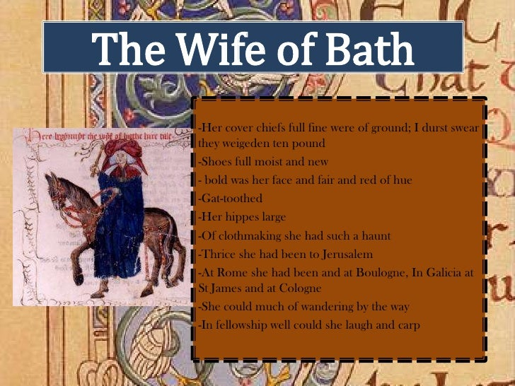 essay on the wife of bath from the canterbury tales Rape and justice in the wife of bath's tale carissa m harris (carissaharris@templeedu) an essay chapter from the open access companion to the canterbury tales (september 2017.