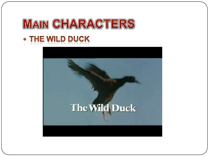 the wild duck ibsen character use Werle, a merchant, manufacturer, etc gregers werle, his son old ekdal hialmar ekdal, his son, a photographer gina ekdal, hjalmar's wife hedvig, their daughter, a.