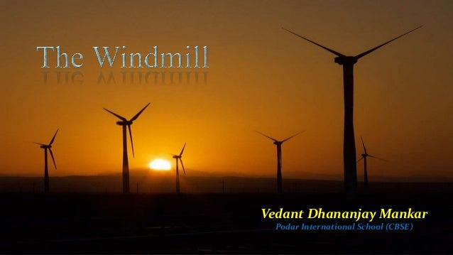 the windmill poem explanation