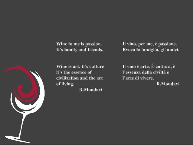 The wine culture  Slide 3