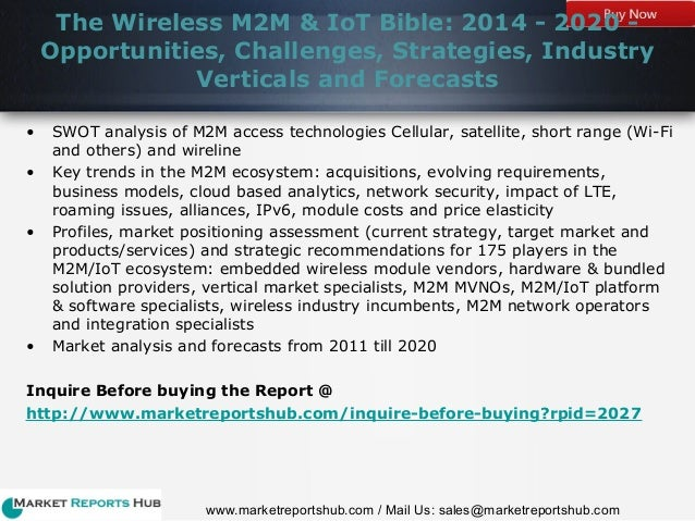 wireless m2m iot bible 2014 Industry report research and publish the best content get started for free  the wireless m2m & iot bible: 2014 - 2020 - opportunities, challenges,.