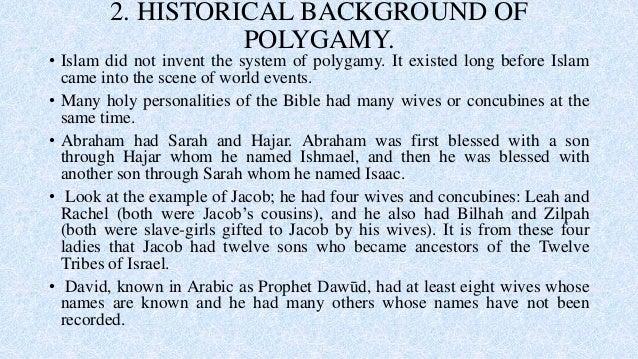 The wisdom of polygamy legislation in Islam