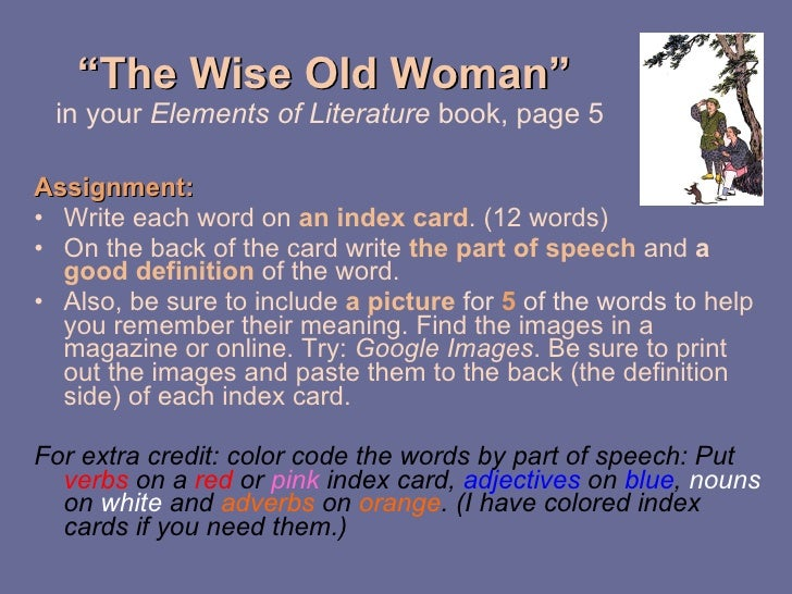 the wise old woman by yoshiko uchida summary