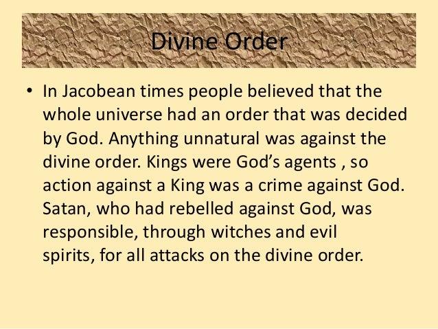 Divine order macbeth