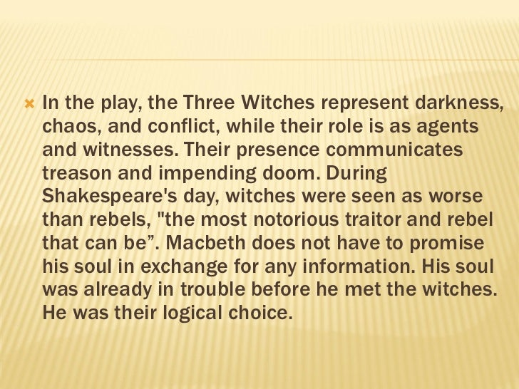 3 fators of doom for macbeth Macbeth: tricked in to his doom topics: macbeth 3 fators of doom for macbeth research paper.