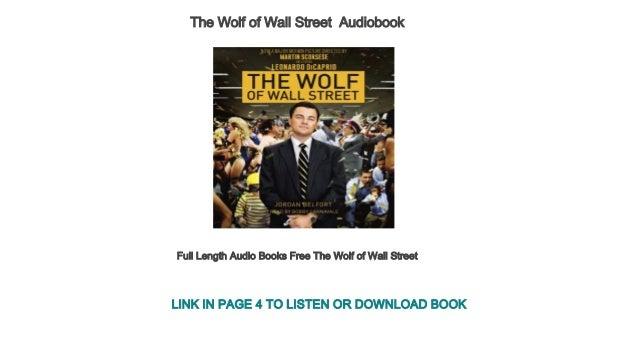 wolf on wall street length