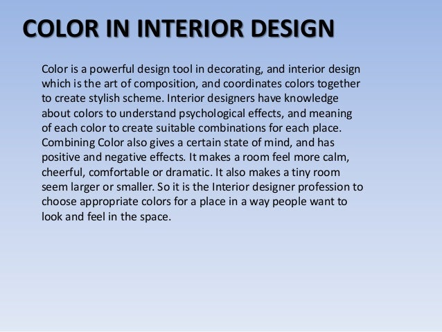 Facts education skills for interior designer for Interior design information facts