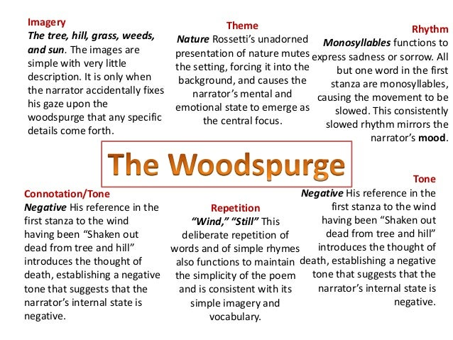 The Woodspurge Poem Essay Format img-1