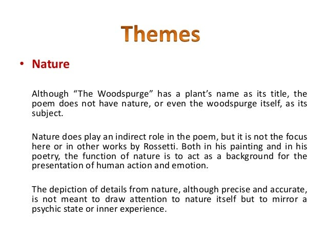 The Woodspurge Poem Essay Format - image 4
