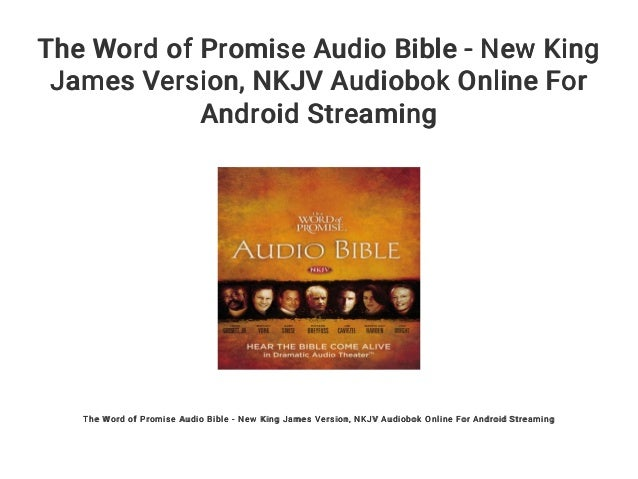 The Word of Promise Audio Bible - New King James Version