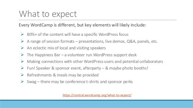 WordCamps aren't just about code! Sessions this non-coder attended:  Version Control Your Life: Alternate Uses for Git  ...