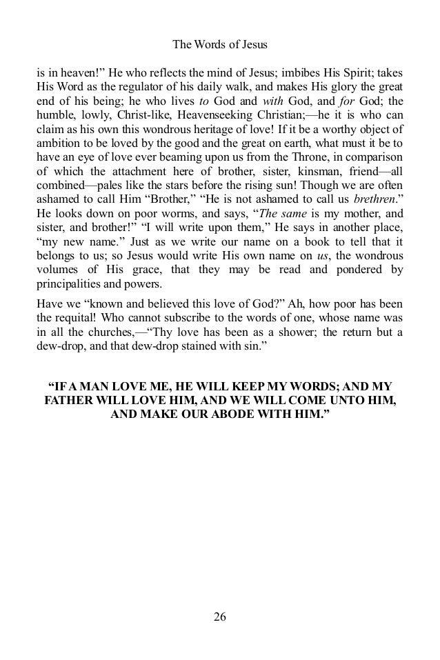 The words of jesus by john r macduff ebook 26 fandeluxe PDF