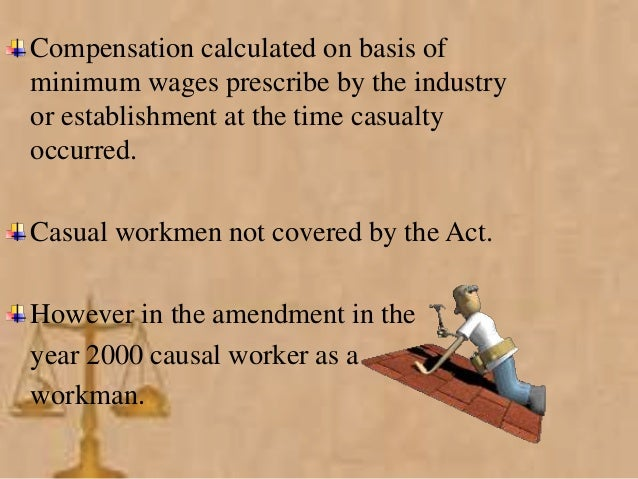 workmens compensation act 1911 - the workmen's compensation act in 1911, wisconsin adopted a workmen's compensation act this remedy is essentially a no-fault system under which a worker no longer has to prove negligence on the part of the employer, and the employer's three common law defenses are eliminated.