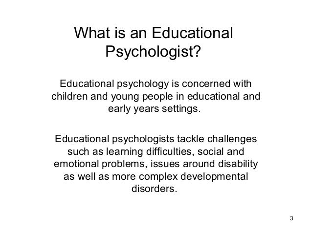 educational psychology and inclusive education Point/counterpoint: brain-based education 25  module 10 integration and inclusion:  educational psychology 1.